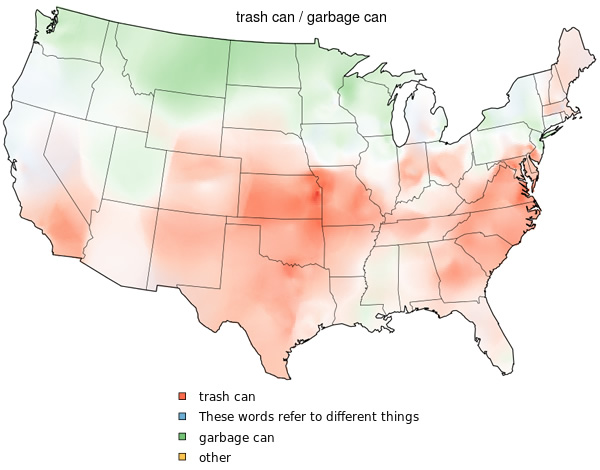 Dialect Maps Of The United States Neatorama - Us dialect map