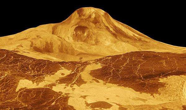Maat Mons of Venus