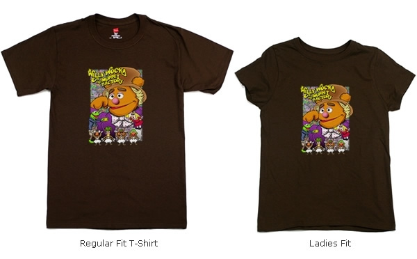 Willy Wocka and the Muppet Factory T-shirts