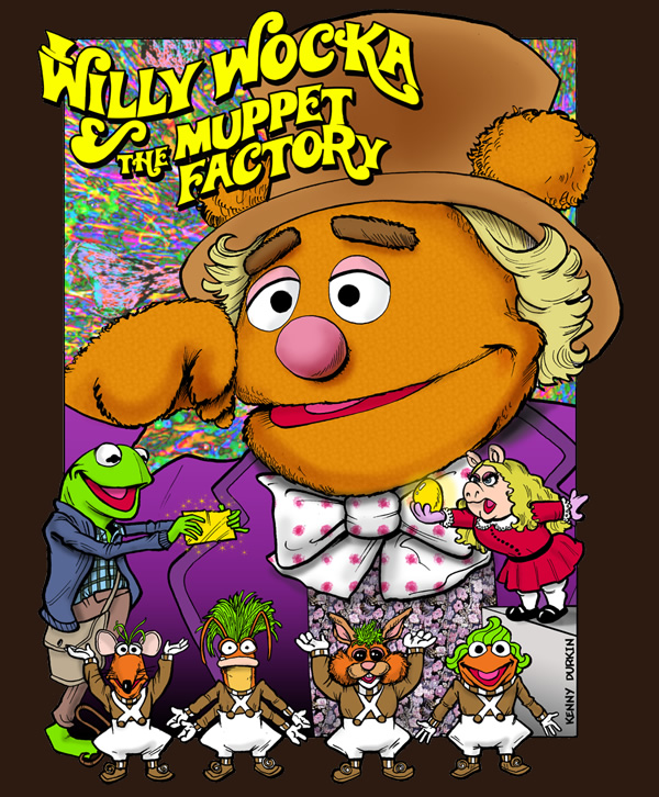 Willy Wocka and the Muppet Factory