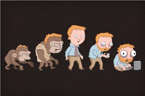 Evolution of Gamers