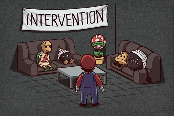 Mario Intervention