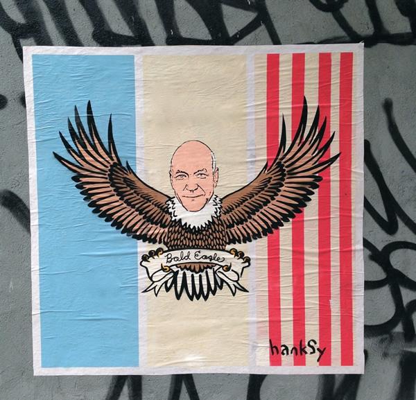 Bald Eagle by Hanksy - Patrick Stewart