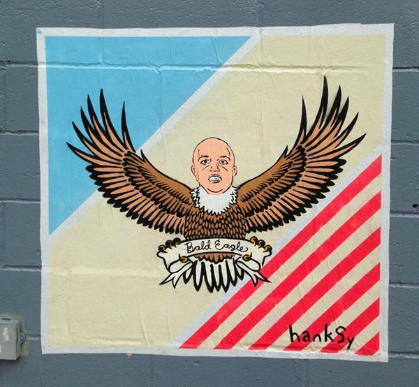 Bald Eagle by Hanksy - Britney Spears