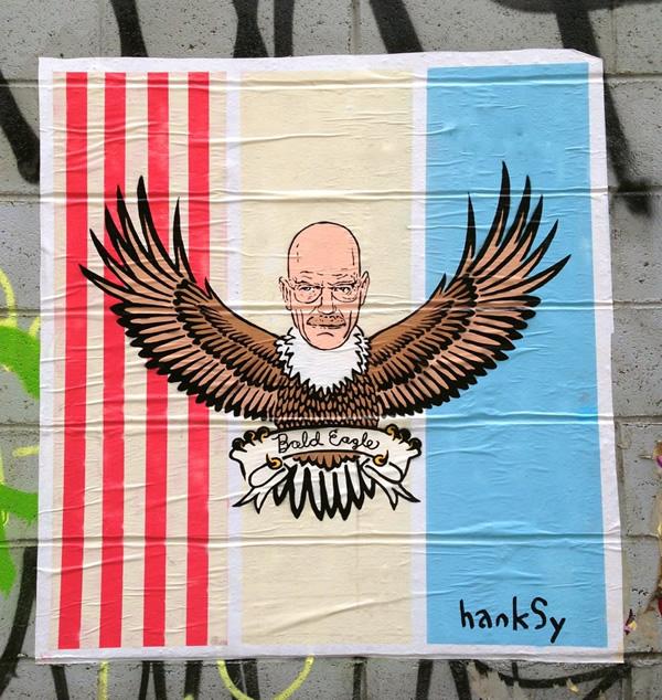 Bald Eagle by Hanksy - Walter White
