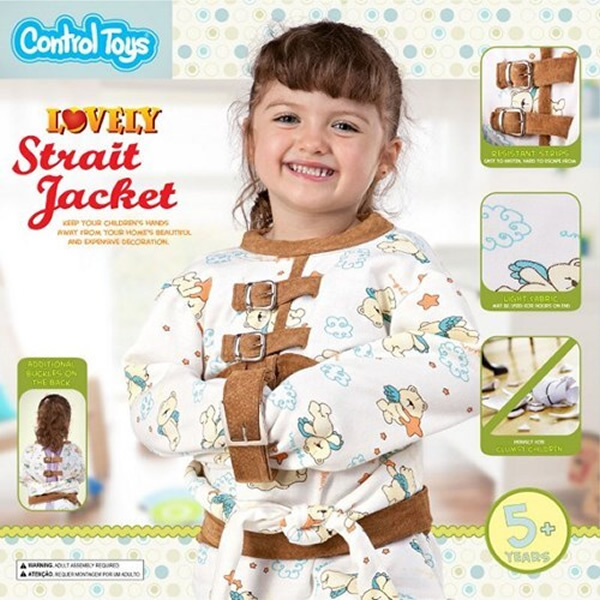Straitjacket and Other Control Toys for Unruly Kids - Neatorama