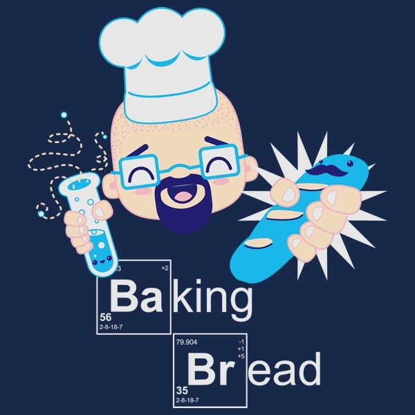 Baking Bread Kawaii