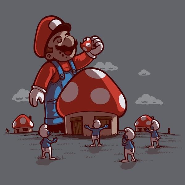 Mushroom Eater