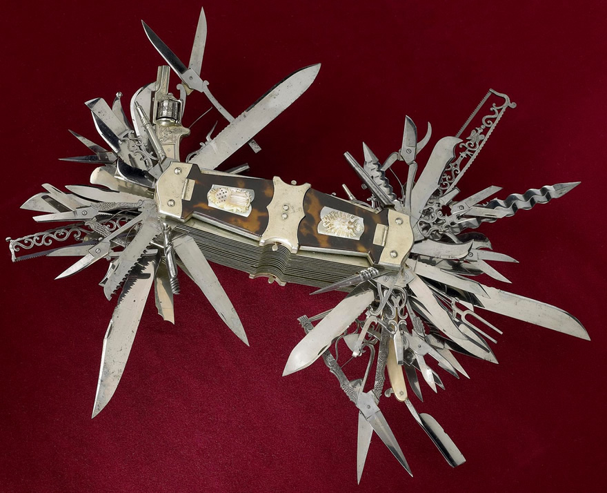 You Can Bring This Mother Of All Swiss Army Knives To A