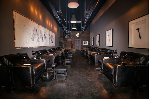 Man Cave Hair Salon Midland : Nail salon for guys wants to put the man back in manicure