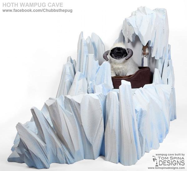 Hoth Wampug Cave Dog Bed