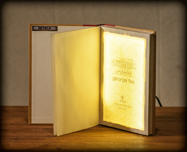 Retech Book Lamp Neatorama