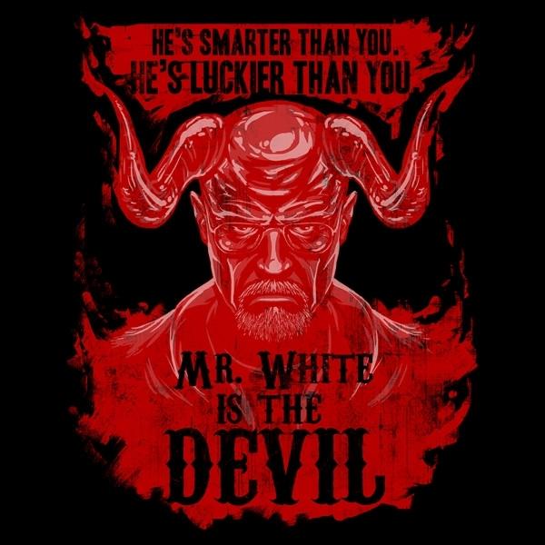 Mr White is the Devil