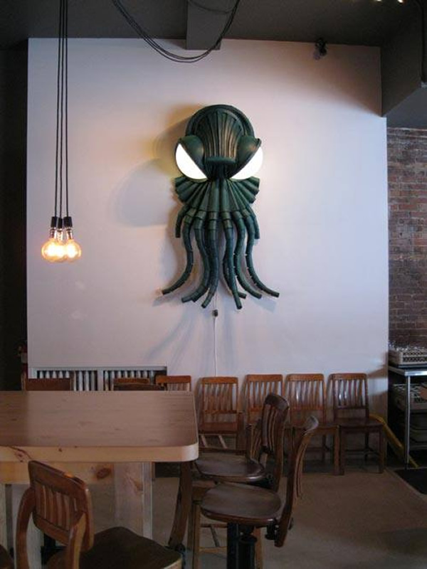 Cthulhu Lamp Sure Puts The Quot Craft Quot In Lovecraft Neatorama