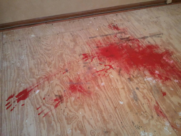 Here S A Bloody Prank That Ll Scare The Living Daylights