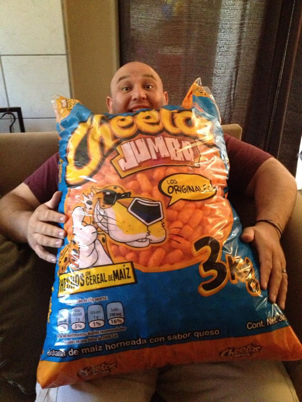 Now That Is A Jumbo Bag Of Cheetos Neatorama