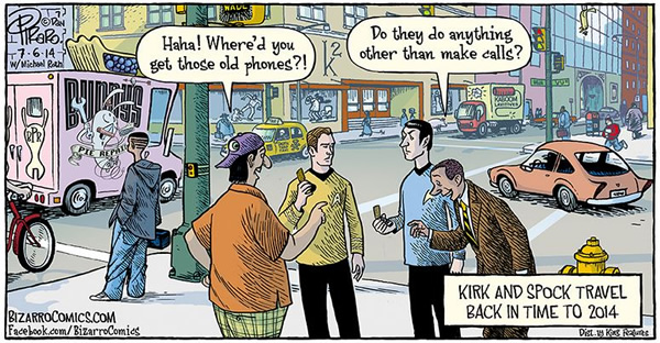 Kirk And Spock Travel Back In Time To 2014 Neatorama