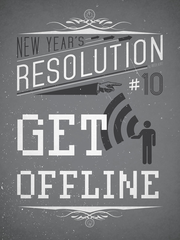 New Year's Resolution Posters