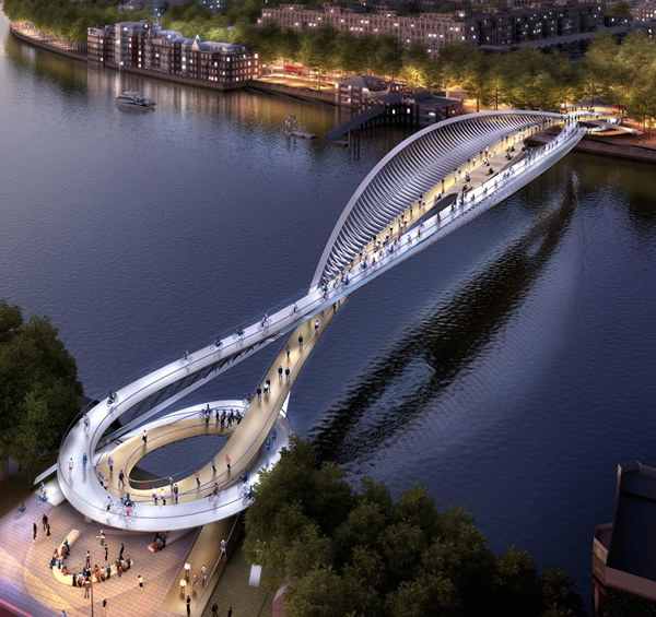 15 designs for a new london bridge look straight out of a for Bridge design