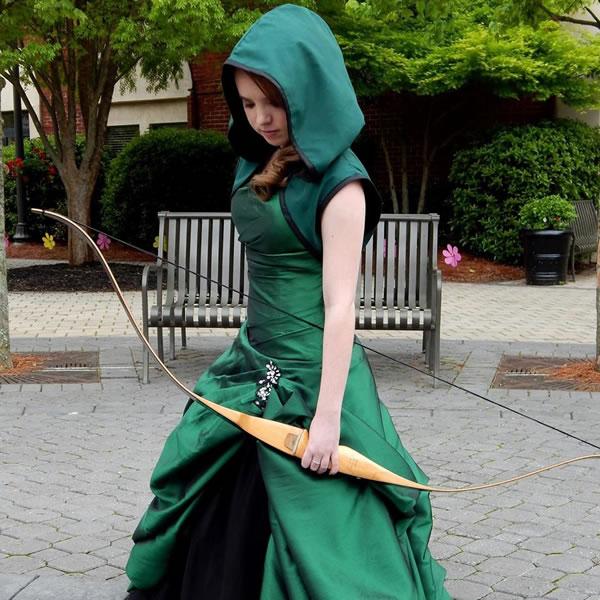 249959a355 Green Arrow Prom Dress - Neatorama