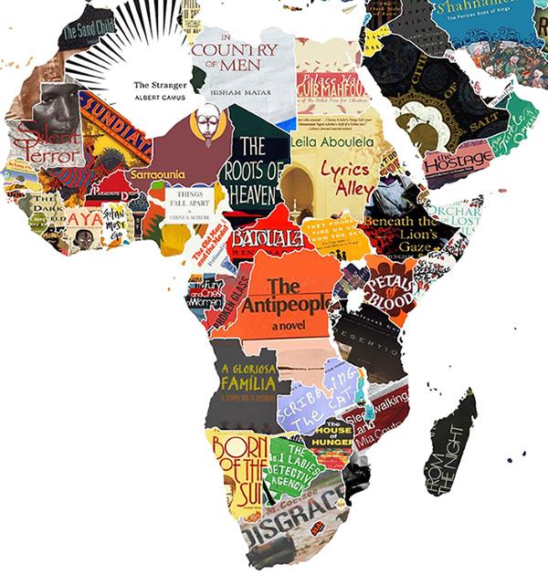 Literary News From All Corners Of The World: World Map Of Literature