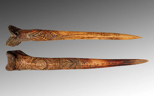 Human Bone Daggers