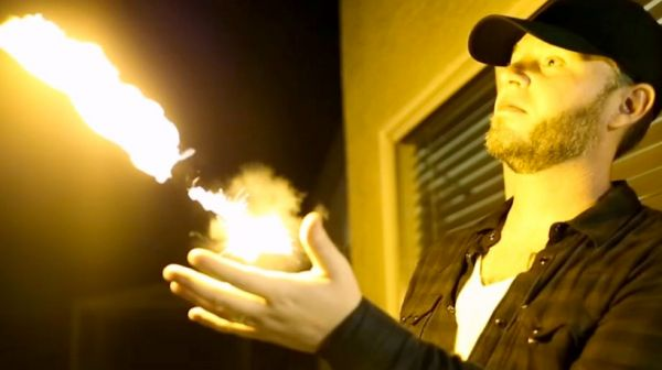 This Functional Flamethrower Is the Size of a Wristwatch