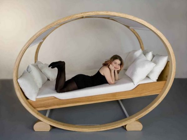 Enjoy The Soothing Motion Of A Rocking Chair, But The Horizontality Of A  Bed. This Is Private Cloud, A Unique Piece Of Furniture Designed By Manuel  Kloker.