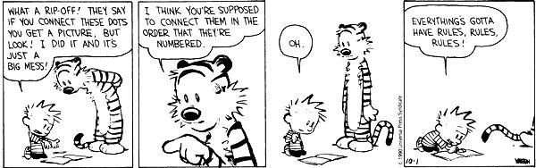 calvin and hobbes was our only popular explication of the