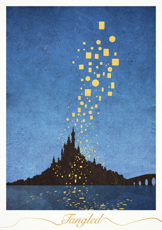Add Cool, Artful Touches to Your Walls With These Minimalist Disney Posters