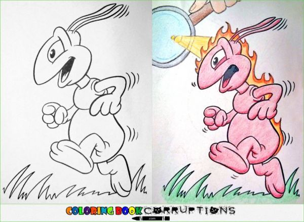 Corrupted Coloring Book Pages - Neatorama