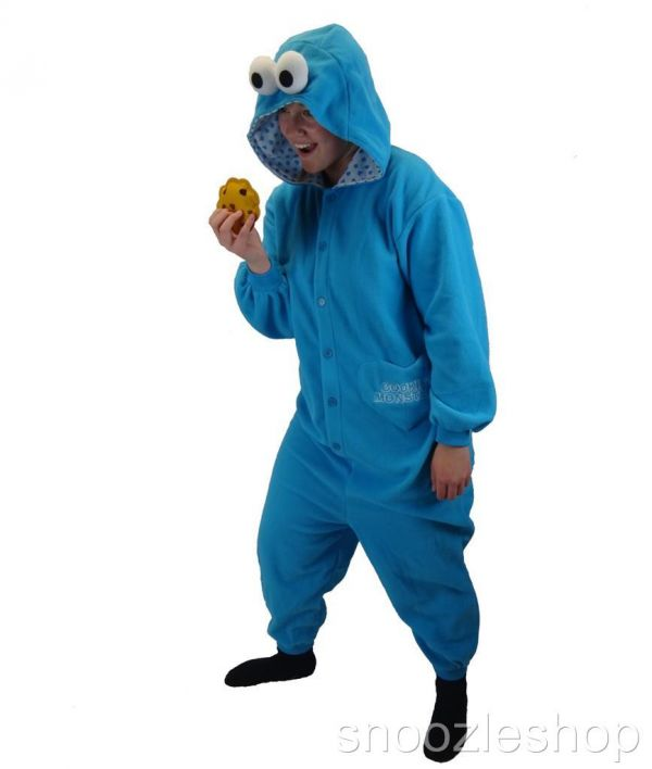Man in Cookie Monster Onesie Arrested for Theft - Neatorama c4dd8024d