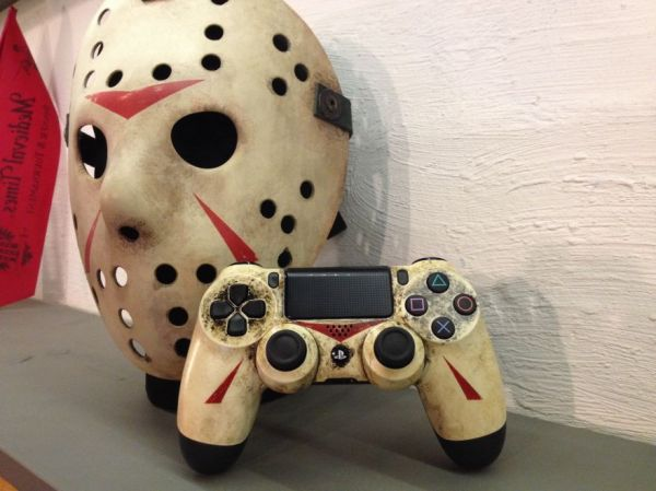 Terrific Friday The 13Th Ps4 Controller Neatorama Machost Co Dining Chair Design Ideas Machostcouk