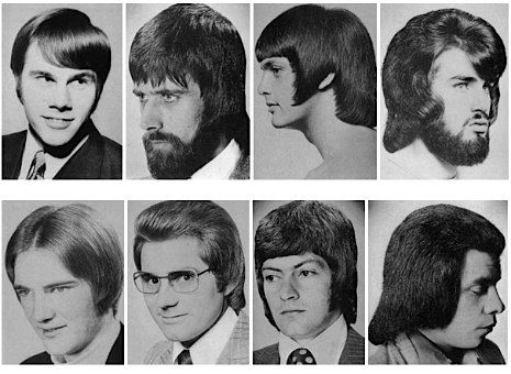 A Collection Of Men S Hairstyles From The 1970s Neatorama