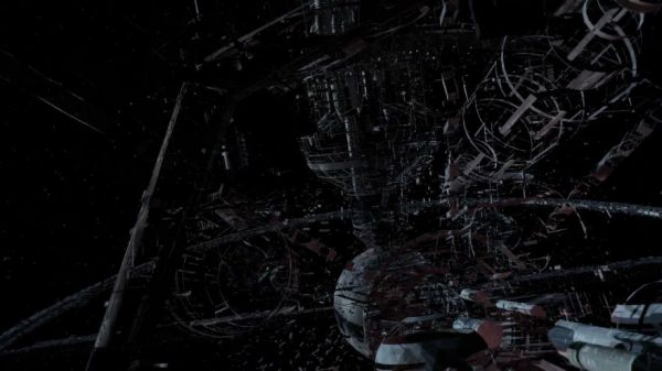 This Incredible CGI Timelapse Shows How The Death Star Would Have Been Built