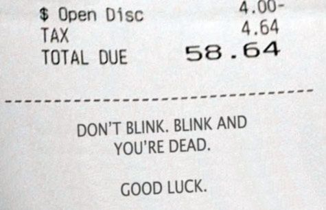 Waiter Uses Doctor Who to Earn Bigger Tips