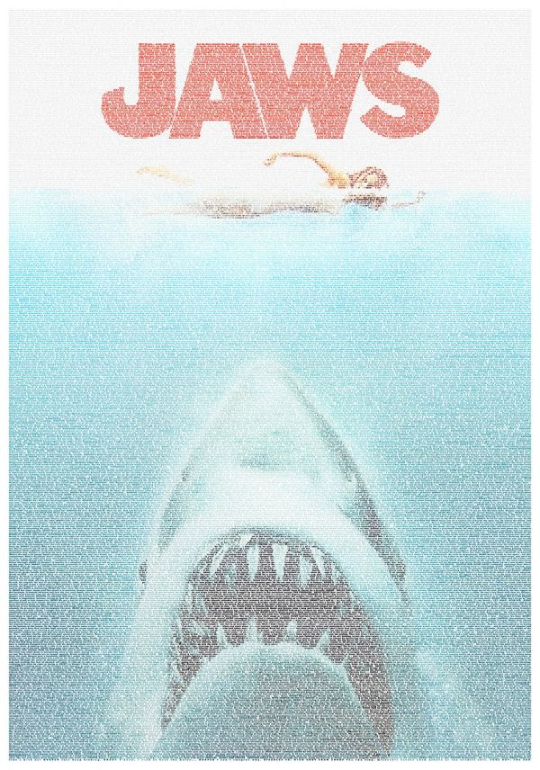 Movie Posters Made Using Words From Their Scripts - Neatorama