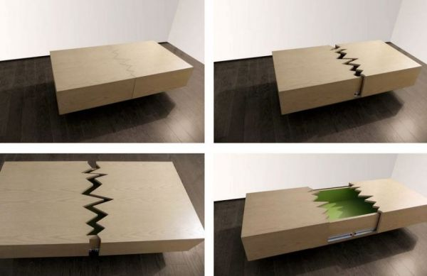 Lovely Ricardo Garza Marcos, A Mexican Furniture Designer, Developed This Oak Coffee  Table. Itu0027s Named For The San Andreas Fault In California  The Site Of So  Many ...