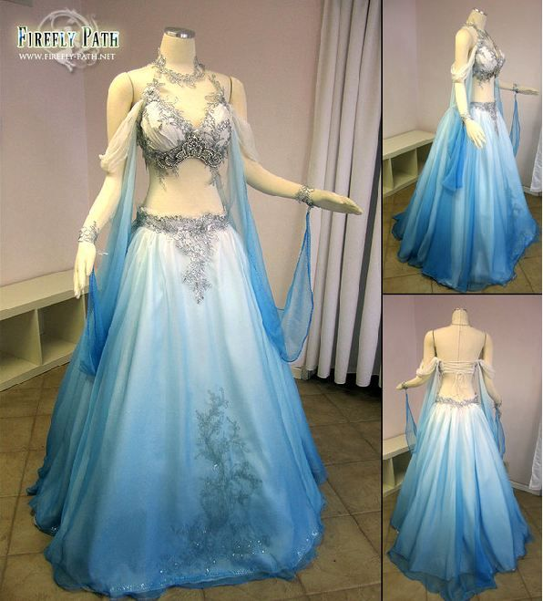 A Belly Dancer S Wedding Dress Neatorama