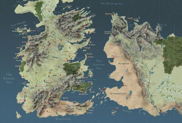with google maps technology you can now explore the lands of george rr martins world from a song of ice and fire and game of thrones