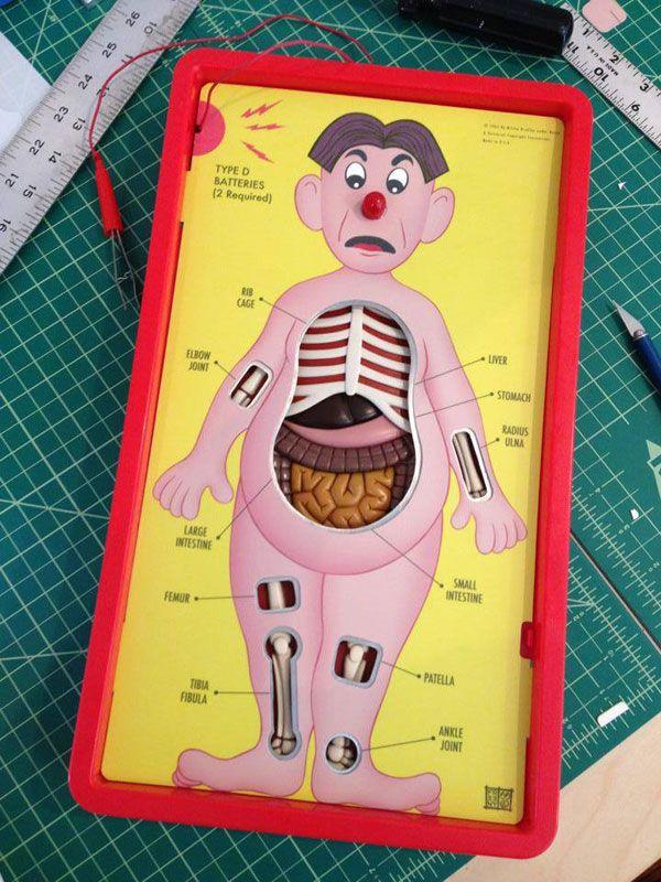 Anatomically Correct Version Of The Game Operation Neatorama