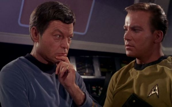 Why Does Star Trek's Dr  McCoy Wear a Pinky Ring? - Neatorama