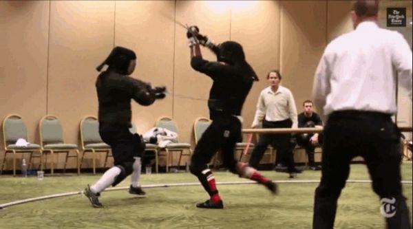 Hema longsword duel