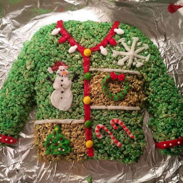 christmas and hanukkah rice krispie treats neatorama