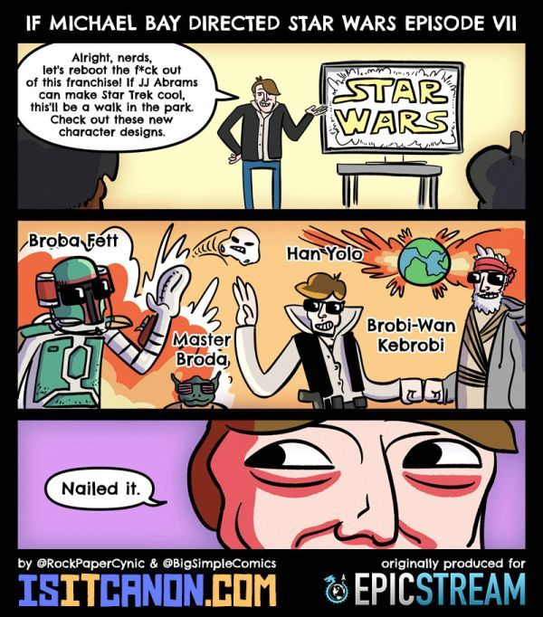 If Michael Bay Directed Star Wars Episode VII - Neatorama