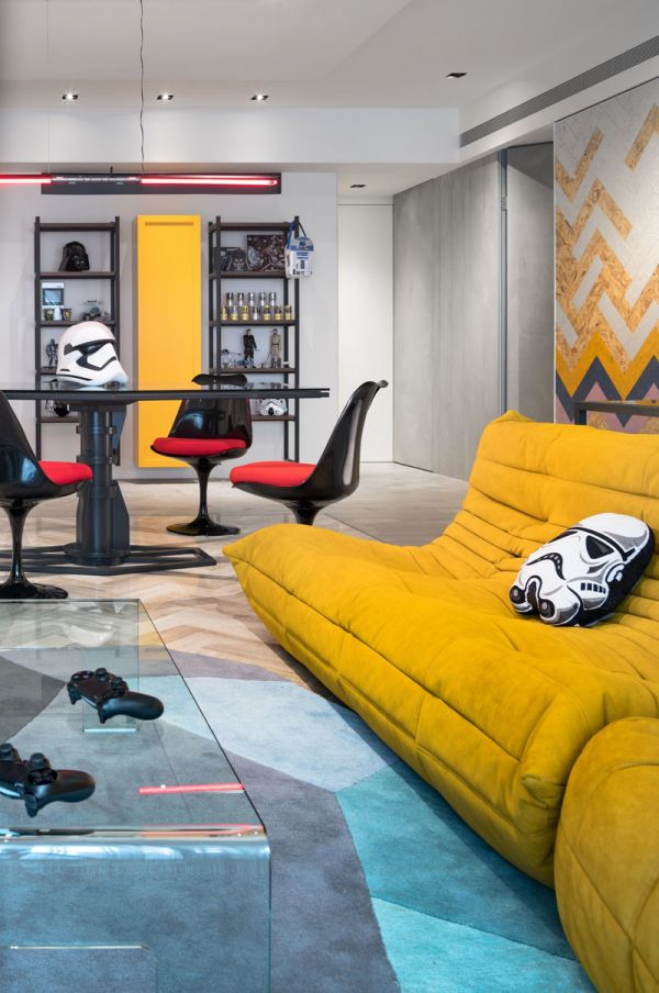 This Family Lives in a Star Wars-Themed Apartment