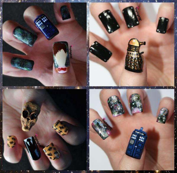 Doctor Who Fingernails