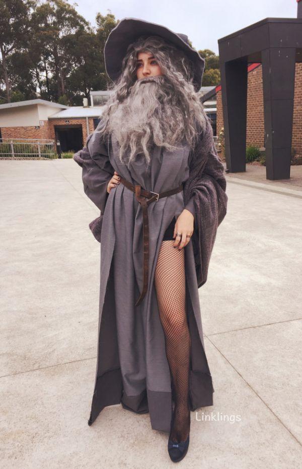 Sexy Gandalf Costume  sc 1 st  Neatorama & Halloween