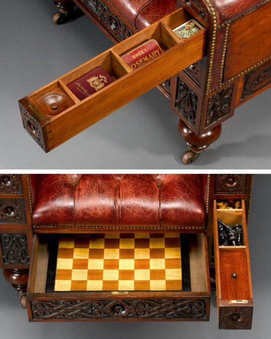 Superieur ... Surprise Chair. Although I Cannot Be Certain, I Think That It Was Once  Owned By M.S. Rau Antiques Of New Orleans. One Compartment Hides From  Public The ...