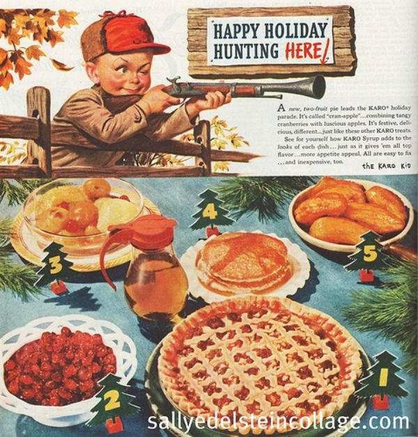 A Wacky Collection Of Ads Photos And Card Art From Thanksgivings Past